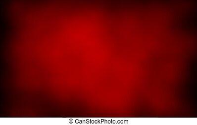 abstratos, fundo, de, vermelho, fumaça