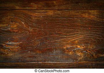 abstratos, fundo, marrom, textura madeira