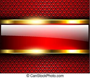 abstratos, fundo, vermelho