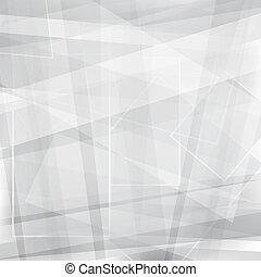 abstratos, fundo, vetorial, cinzento, desenho