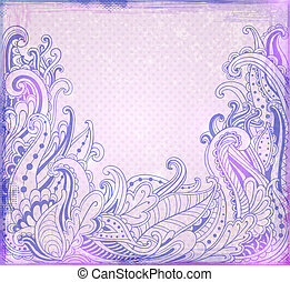 abstratos, fundo, violeta