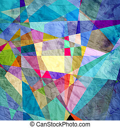 abstratos, geomã©´ricas, fundo