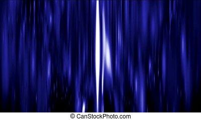 abstratos, golpes, de, luz azul