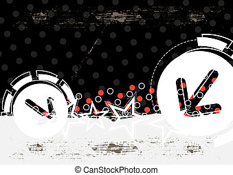 abstratos, grunge, artwork