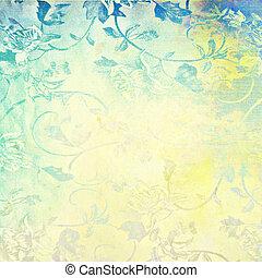 abstratos, grunge, fundo, textura