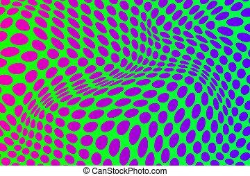 abstratos, ilusão óptica, fundo
