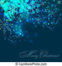 abstratos, ilustração, experiência., vetorial, ano, novo, natal