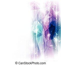 abstratos, ilustração, fundo, vetorial, futuro, tecnologia