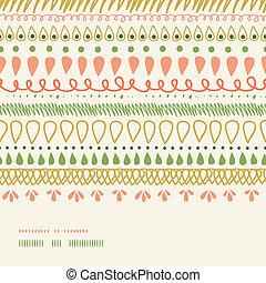 abstratos, listras, horizontais, seamless, padrão, fundo