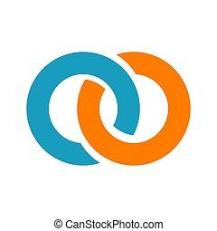 abstratos, logotipo, desenho, template., vetorial, criativo, símbolo