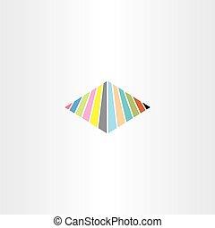 abstratos, logotipo, sinal negócio, símbolo, ícone, vetorial, elemento