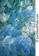 abstratos, mão, pintado, fundo