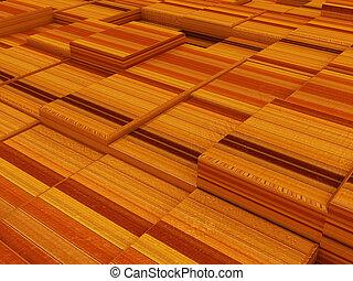 abstratos, madeira, urbano, fundo