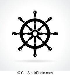 abstratos, marítimo, ícone