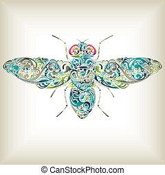 abstratos, mosca