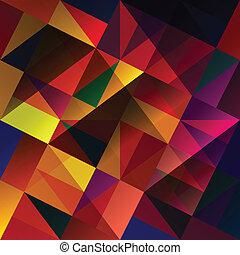 abstratos, multi-colorido, experiência., vetorial, eps10
