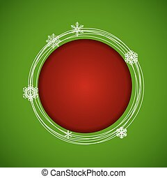 abstratos, natal ano novo, experiência., vetorial, ilustração