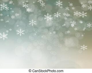 abstratos, natal, fundo, de, feriado, luzes