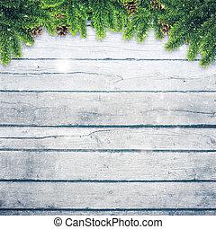 abstratos, natal, fundos, com, xmas, decorações, sobre, antigas, wo