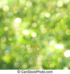 abstratos, natural, verão, e, primavera, fundos