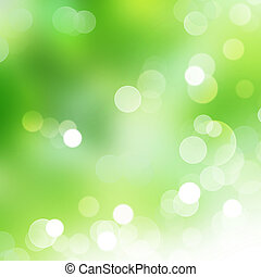 abstratos, natureza, bokeh