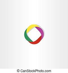 abstratos, negócio, logotype, vetorial, elemento