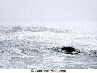 abstratos, oceano pacífico