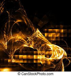 abstratos, olá-tecnologia, fractal