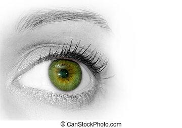 abstratos, olho