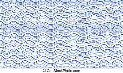 abstratos, ondas