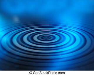 abstratos, ondulações