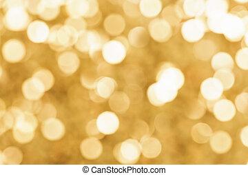 abstratos, ouro, fundo