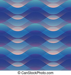 abstratos, padrão, onda