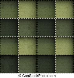 abstratos, pano, seamless, padrão, com, grunge, efeito