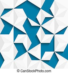 abstratos, papel, fundo, triângulos