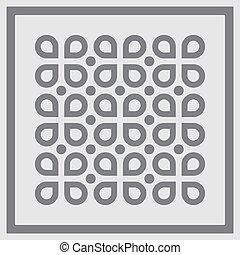 abstratos, pattern., fundo, vector.