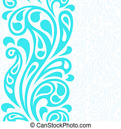 abstratos, pattern., seamless, água, respingo, ondas