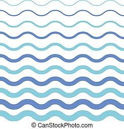 abstratos, pattern., seamless, onda