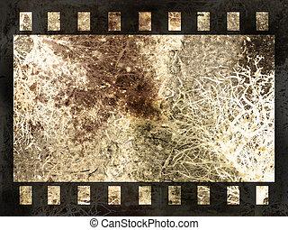 abstratos, película, fundo, faixa