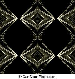 abstratos, poderoso, fundo, objeto