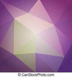 abstratos, polygonal, vetorial, desenho, fundo, seu