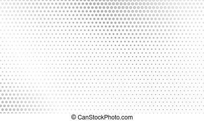 abstratos, pontilhado, locais, cobertura, experiência., wave., monocromático, onda, negócio, textura, cartão, ponto, vetorial, halftone, cartaz, futurista, modernos, óptico, padrão, grunge