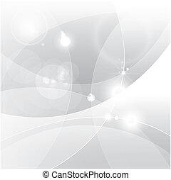 abstratos, prata, fundo