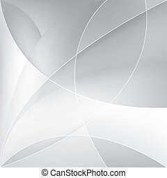 abstratos, prata, fundo, vetorial