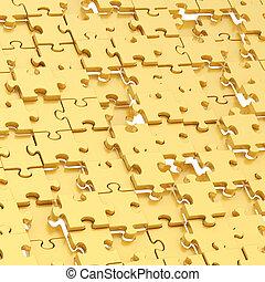 abstratos, quebra-cabeça, fundo, composição