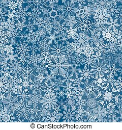 abstratos, seamless, fundo, snowflake