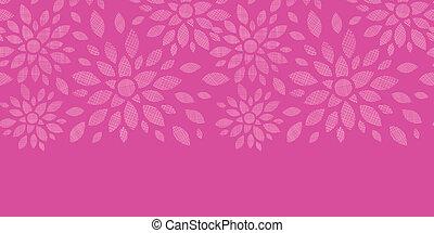 abstratos, têxtil, flores, cor-de-rosa, horizontais,...