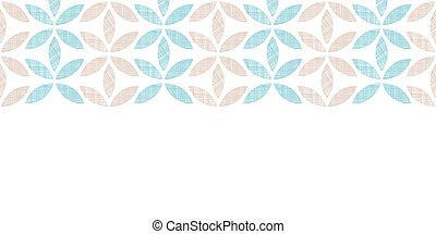 abstratos, têxtil, folhas, listras, horizontais, seamless,...