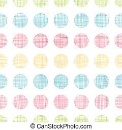 abstratos, têxtil, pontos polka, listras, seamless, padrão, fundo