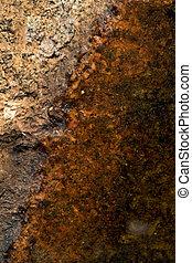 abstratos, textura, rocha